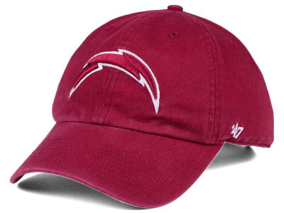 Los Angeles Chargers '47 NFL Cardinal CLEAN UP Cap