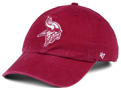 Minnesota Vikings '47 NFL Cardinal CLEAN UP Cap