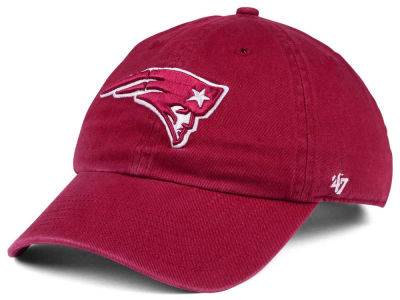 New England Patriots '47 NFL Cardinal CLEAN UP Cap