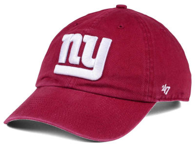 New York Giants '47 NFL Cardinal CLEAN UP Cap