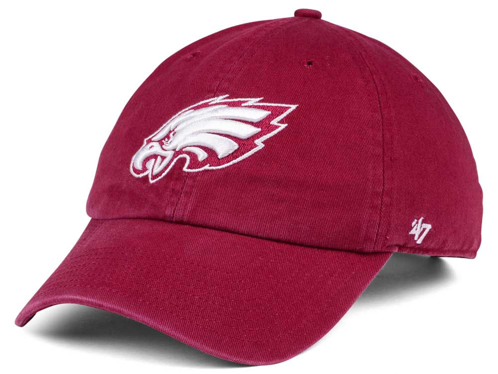 2a191fb4 real philadelphia eagles hat red 24ee6 1642c