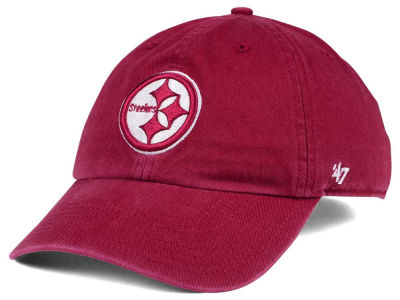 Pittsburgh Steelers '47 NFL Cardinal CLEAN UP Cap