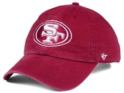 San Francisco 49ers '47 NFL Cardinal CLEAN UP Cap