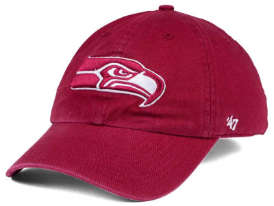 Seattle Seahawks '47 NFL Cardinal CLEAN UP Cap