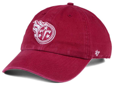 Tennessee Titans '47 NFL Cardinal CLEAN UP Cap