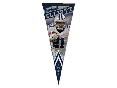 Dallas Cowboys Ezekiel Elliott Wincraft 12x30 Premium Player Pennant