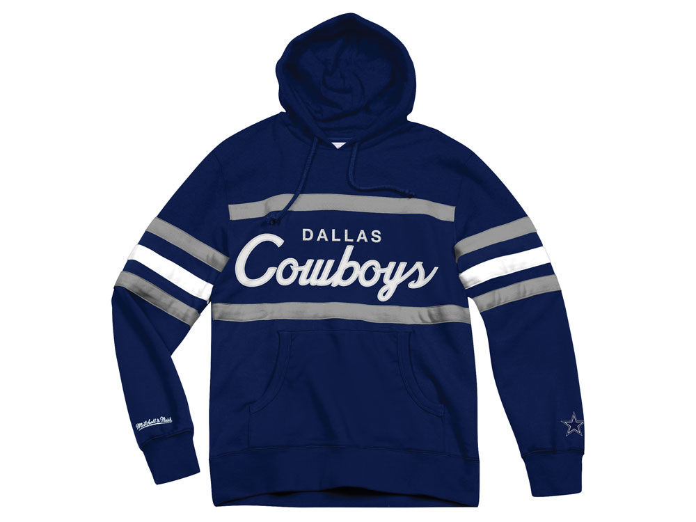 031723ca7 Dallas Cowboys Mitchell   Ness NFL Men s Head Coach Hoodie