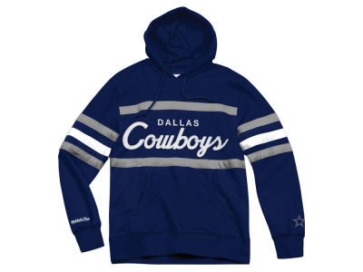 Dallas Cowboys Mitchell & Ness NFL Men's Head Coach Hoodie