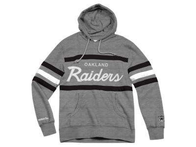 Oakland Raiders Mitchell & Ness NFL Men's Head Coach Hoodie
