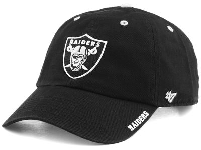 Oakland Raiders '47 NFL Ice CLEAN UP Cap
