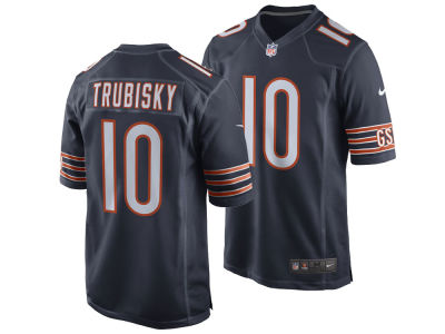 Chicago Bears Mitchell Trubisky Nike NFL Men's Game Jersey