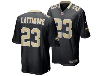 New Orleans Saints Marshon Lattimore Nike NFL Men's Game Jersey