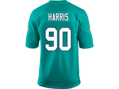 Miami Dolphins Charles Harris Nike NFL Men's Game Jersey
