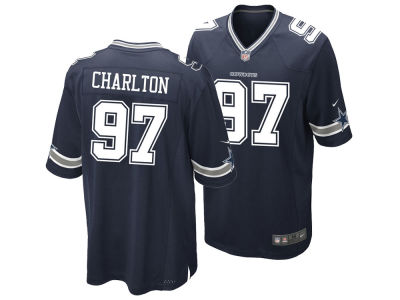 Dallas Cowboys Taco Charlton Nike NFL Men's Game Jersey