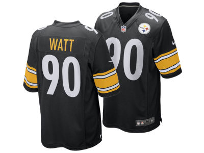 Pittsburgh Steelers T.J. Watt Nike 2017 NFL Draft Game Jersey