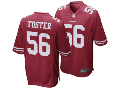 San Francisco 49ers Reuben Foster Nike NFL Men's Game Jersey