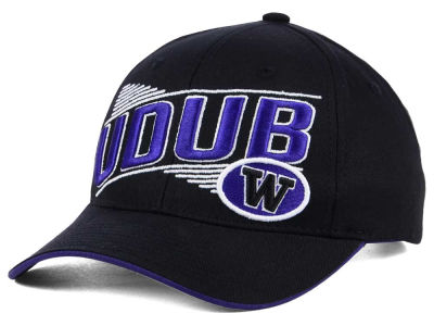 Washington Huskies 2 for $28 Zephyr NCAA Huskies Crossover Adjustable Cap