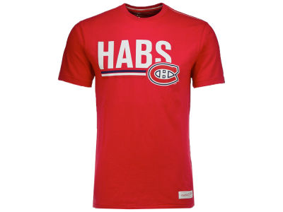 Montreal Canadiens Mitchell & Ness NHL Men's Nickname Wordmark T-Shirt
