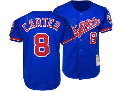 Montreal Expos Gary Carter Mitchell & Ness MLB Men's Authentic Batting Practice Jersey