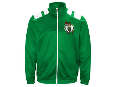 Boston Celtics G-III Sports NBA Men's Broad Jump Track Jacket