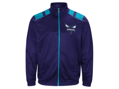 Charlotte Hornets G-III Sports NBA Men's Broad Jump Track Jacket
