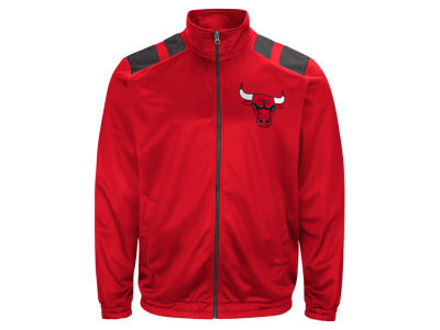 Chicago Bulls G-III Sports NBA Men's Broad Jump Track Jacket