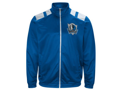 Dallas Mavericks G-III Sports NBA Men's Broad Jump Track Jacket