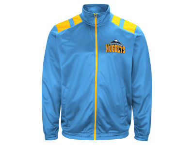 Denver Nuggets G-III Sports NBA Men's Broad Jump Track Jacket