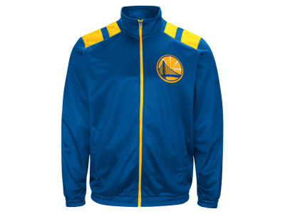 Golden State Warriors G-III Sports NBA Men's Broad Jump Track Jacket