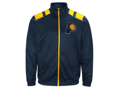 Indiana Pacers G-III Sports NBA Men's Broad Jump Track Jacket