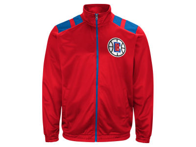 Los Angeles Clippers G-III Sports NBA Men's Broad Jump Track Jacket