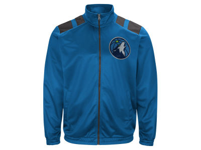 Minnesota Timberwolves G-III Sports NBA Men's Broad Jump Track Jacket