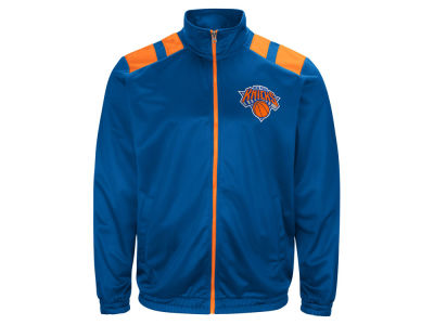 New York Knicks G-III Sports NBA Men's Broad Jump Track Jacket