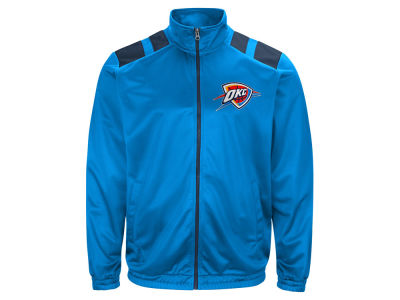 Oklahoma City Thunder G-III Sports NBA Men's Broad Jump Track Jacket
