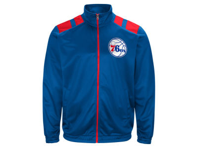 Philadelphia 76ers G-III Sports NBA Men's Broad Jump Track Jacket
