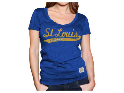 St. Louis Blues NHL Women's Vintage T-Shirt