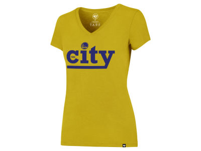Golden State Warriors NBA Women's City Splitter T-Shirt