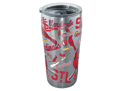 St. Louis Cardinals Tervis 20oz All Over Stainless Steel Keeper