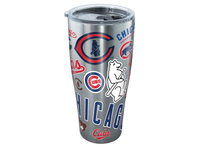 Chicago Cubs 30oz All Over Stainless Steel Keeper
