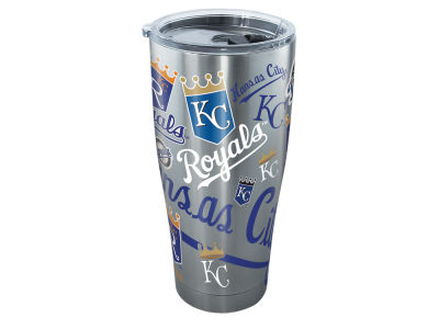 Kansas City Royals Tervis 30oz MLB All Over Stainless Steel Tumbler