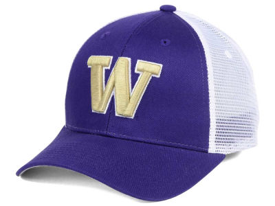 Washington Huskies Zephyr NCAA Big Rig Mesh Adjustable Cap
