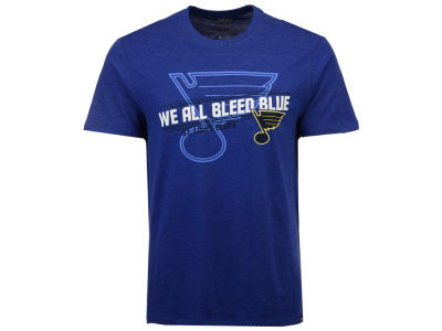 St. Louis Blues '47 NHL Men's Regional Slogan T-Shirt