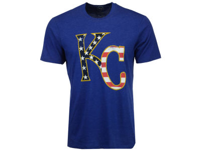Kansas City Royals '47 MLB Men's Americana Star T-Shirt