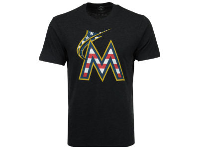 Miami Marlins MLB Men's Americana Star T-Shirt