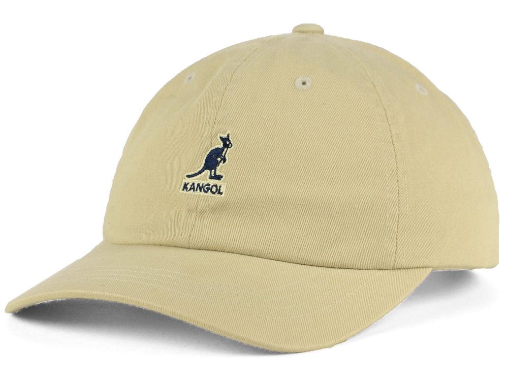 Kangol Washed Baseball Cap  cbd23f7c1b9