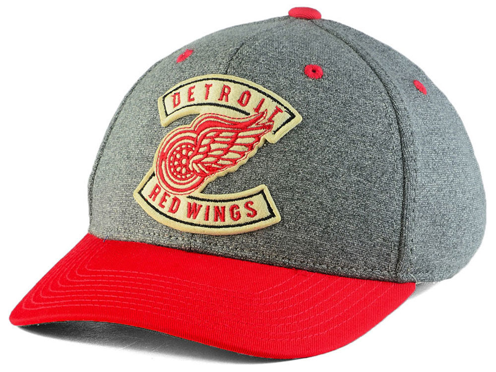 c8fa12ee ... italy detroit red wings ccm nhl ccm structured flex cap e716a 6a291
