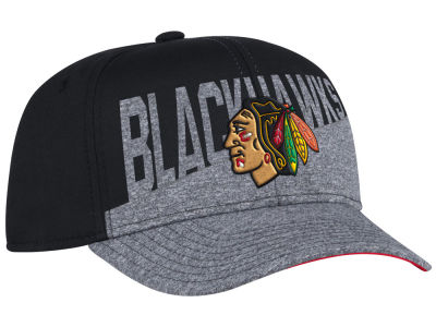 Chicago Blackhawks adidas NHL Slashing Adjustable Cap