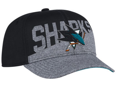 San Jose Sharks adidas NHL Slashing Adjustable Cap