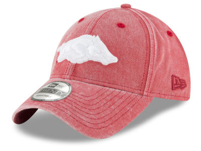 Arkansas Razorbacks New Era NCAA Italian Wash 9TWENTY Cap