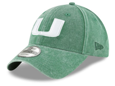 Miami Hurricanes New Era NCAA Italian Wash 9TWENTY Cap